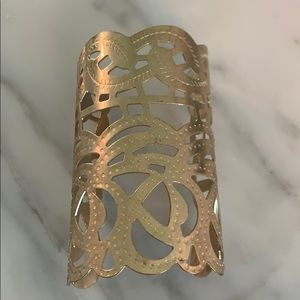 Jewelry - Gold plated large cuff